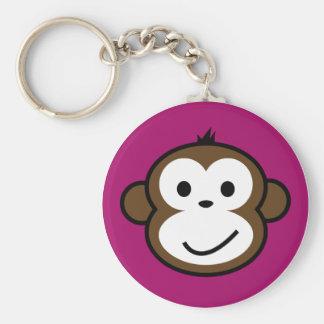 Mono fresco llaveros personalizados