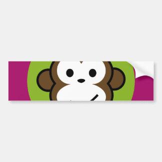 Mono fresco pegatina para auto