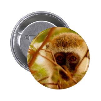 Mono fresco pin redondo de 2 pulgadas