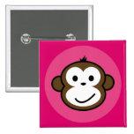 Mono fresco [rosa+rosas fuertes] pins