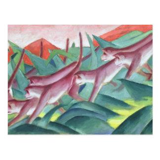 Mono Frieze, 1911 Postales
