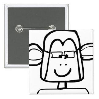 Mono Geeky Pins