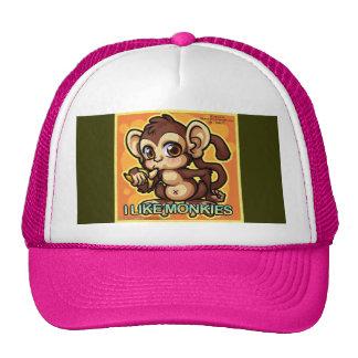mono gorras de camionero