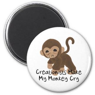 Mono gritador imán redondo 5 cm