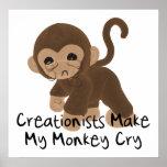 Mono gritador impresiones