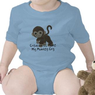 Mono gritador traje de bebé