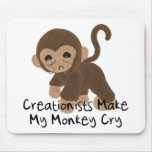 Mono gritador tapete de ratones