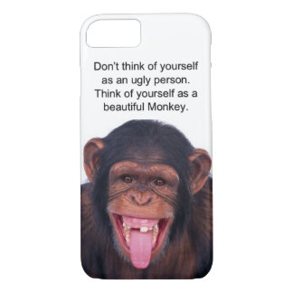 Mono hermoso funda iPhone 7