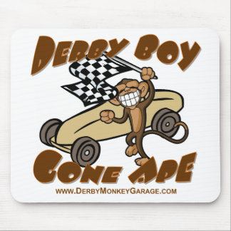 Mono ido muchacho de Derby Mousepads