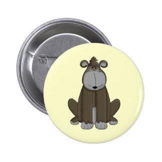 Mono ido pin redondo 5 cm