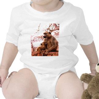 mono incondicional del amor de madre traje de bebé