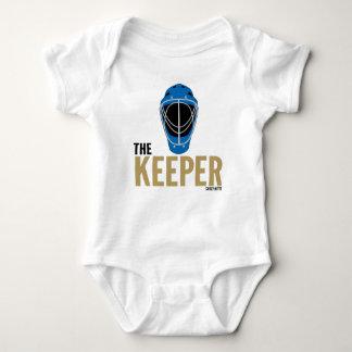 Mono infantil del bebé de la máscara del portero body para bebé