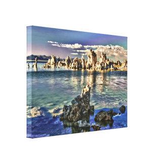 Mono lago, California Impresión En Lienzo