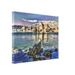 Mono lago, California Lona Envuelta Para Galerias