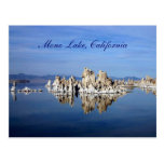 Mono lago, California Tarjeta Postal