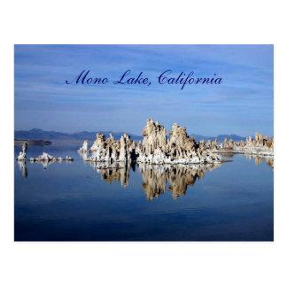 Mono lago, California Tarjetas Postales