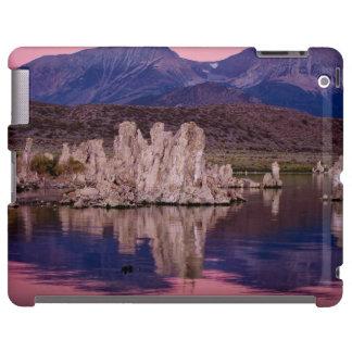 Mono lago espectacular en la sombra funda para iPad