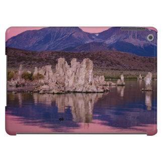 Mono lago espectacular en la sombra funda para iPad air