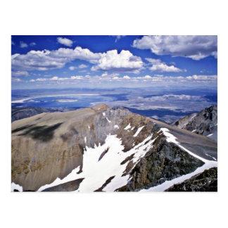 Mono Lake, Looking East From Summit Of Mt. Dana Postcard
