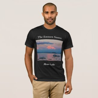 Mono Lake Men's Nature-Themed T-Shirt