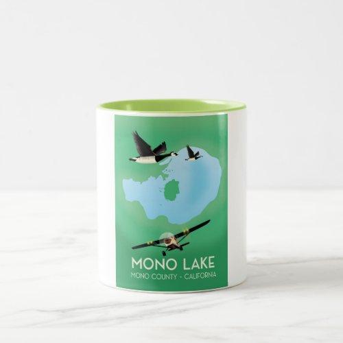 Mono Lake,Mono County, California travel poster