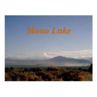 Mono Lake poastcard Postcard