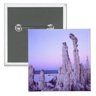 Mono Lake Reserve. California. USA. Tufa 2 Inch Square Button