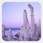 Mono Lake Reserve. California. USA. Tufa Square Sticker