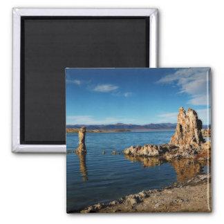 Mono Lake Scene 2 Inch Square Magnet