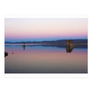 Mono Lake South at dusk Postcard