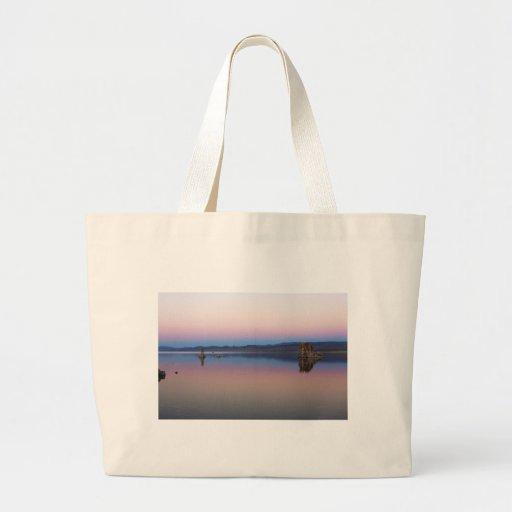 Mono Lake South at dusk Tote Bag