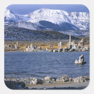 MONO LAKE TUFA STATE NATURAL RESERVE, SQUARE STICKER