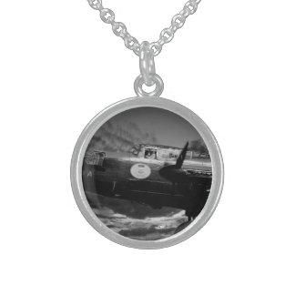 Mono Lancaster Round Pendant Necklace