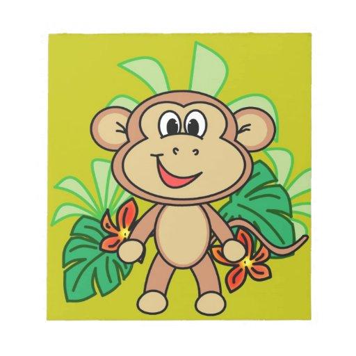mono libretas para notas