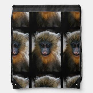 Mono lindo de Mandrill Mochilas