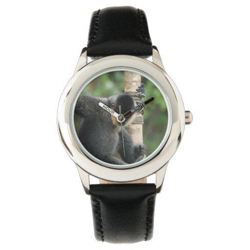 Mono lindo del capuchón reloj de mano