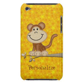 Mono lindo en la caja personalizada rama del tacto barely there iPod cárcasa