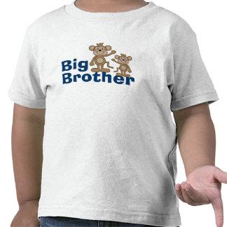 Mono lindo hermano mayor camiseta