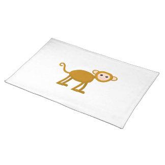 Mono lindo manteles individuales
