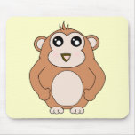 Mono lindo tapetes de raton
