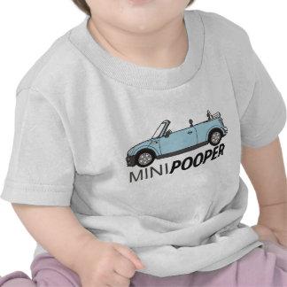 Mono lindo y divertido del bebé camiseta