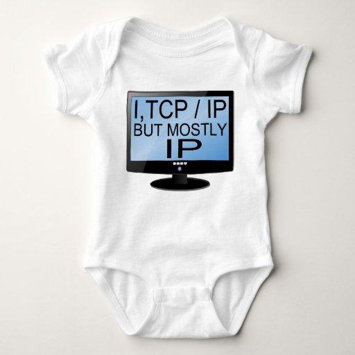 Mono lindo y divertido del friki del bebé tee shirt