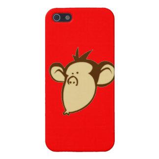 Mono Lippy iPhone 5 Carcasas