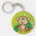 mono llavero personalizado