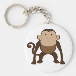 Mono Llavero Redondo Tipo Pin