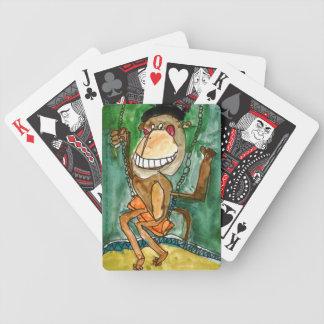 Mono loco de Andrew Heye, edad 10 Baraja Cartas De Poker