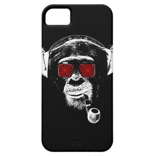 Mono loco iPhone 5 carcasas