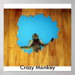 Mono loco impresiones