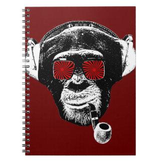 Mono loco libro de apuntes