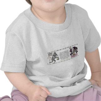 Mono los an o 80 del metal del virgo del zodiaco d camisetas